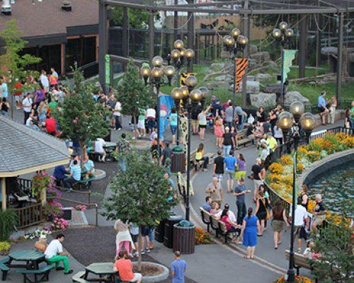 Syracuse Zoo RGZ Main Courtyard